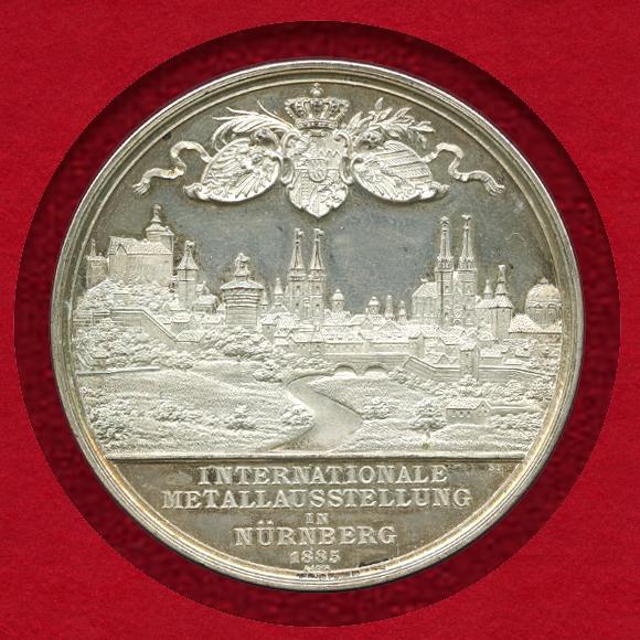 1885年ニュルンベルクメダル