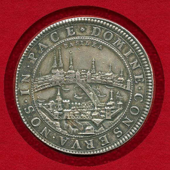 バーゼル 2ターラー銀貨