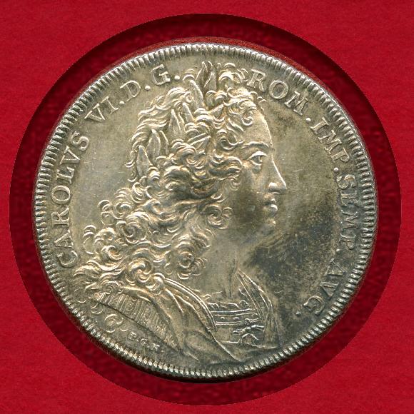 1736年ニュルンベルク銀貨