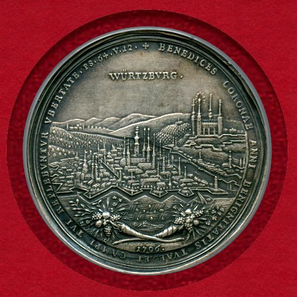 ヴュルツブルク 銀メダル