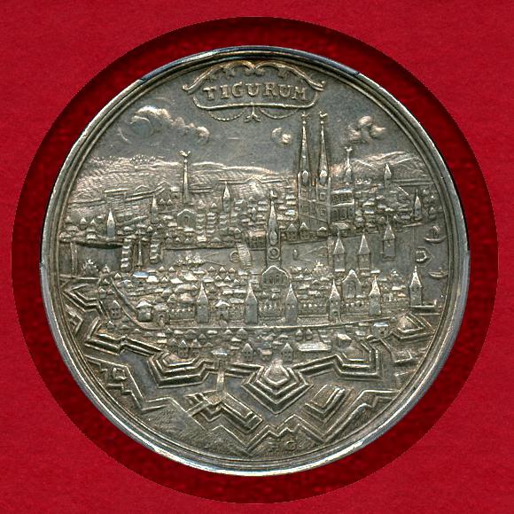 チューリッヒ銀メダル