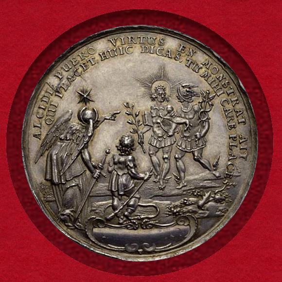 ライプツィヒ銀メダル